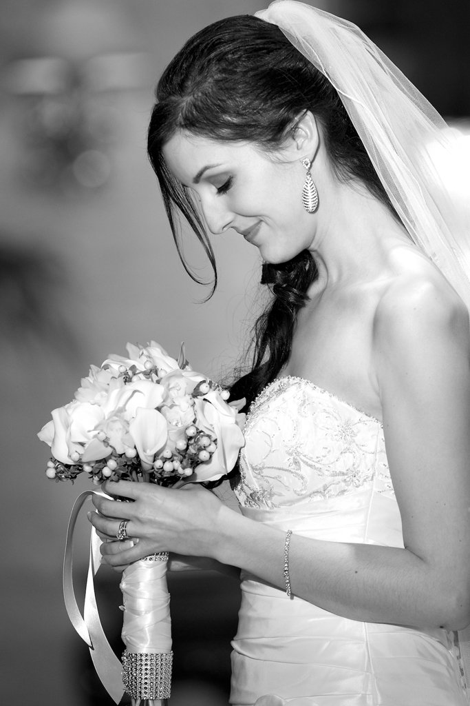 bride at the Royal York Hotel