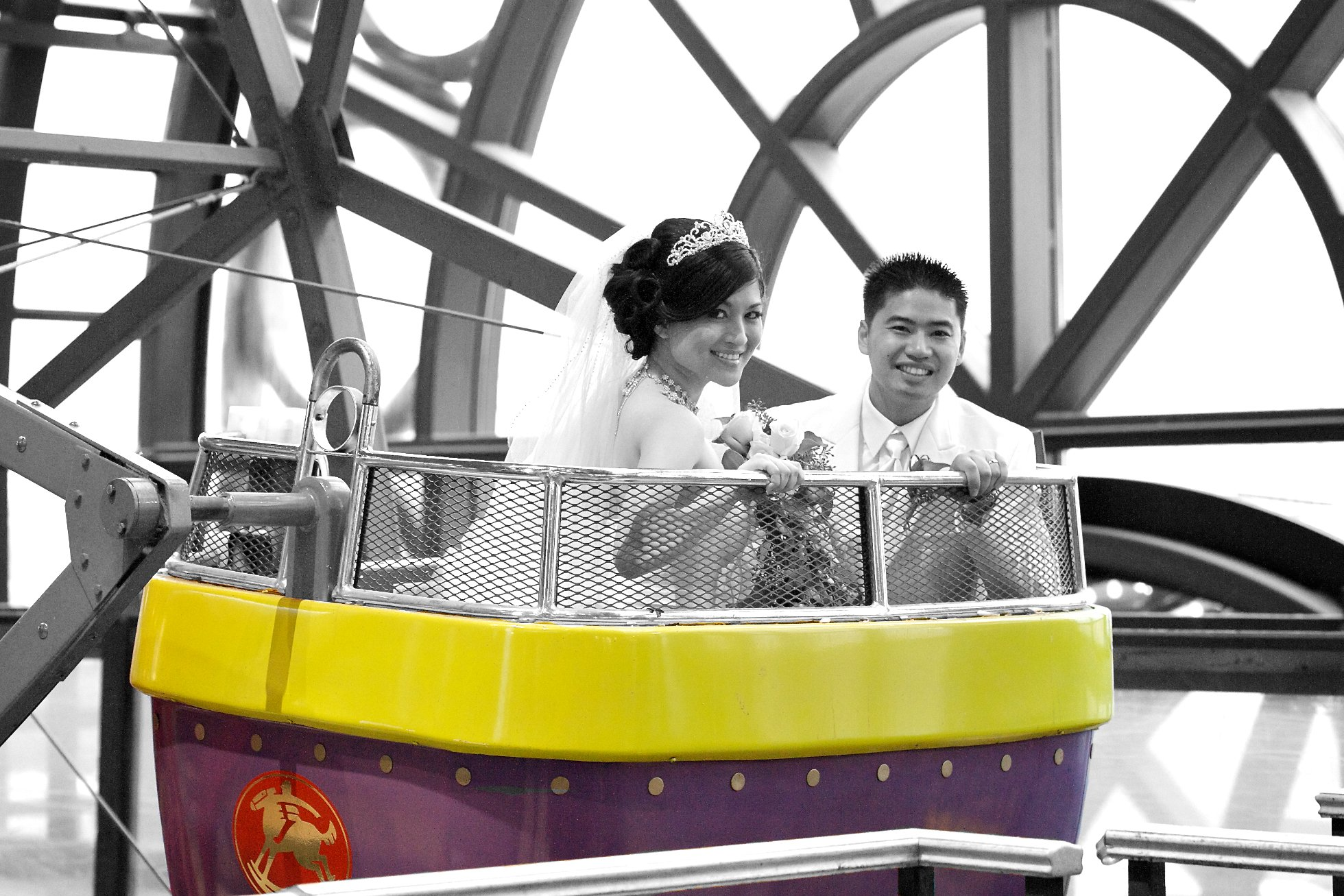 Woodbine Centre wedding photos Toronto