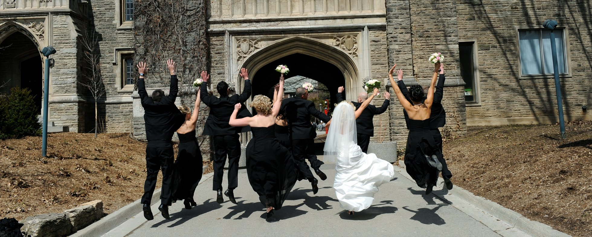wedding Party at McMaster University