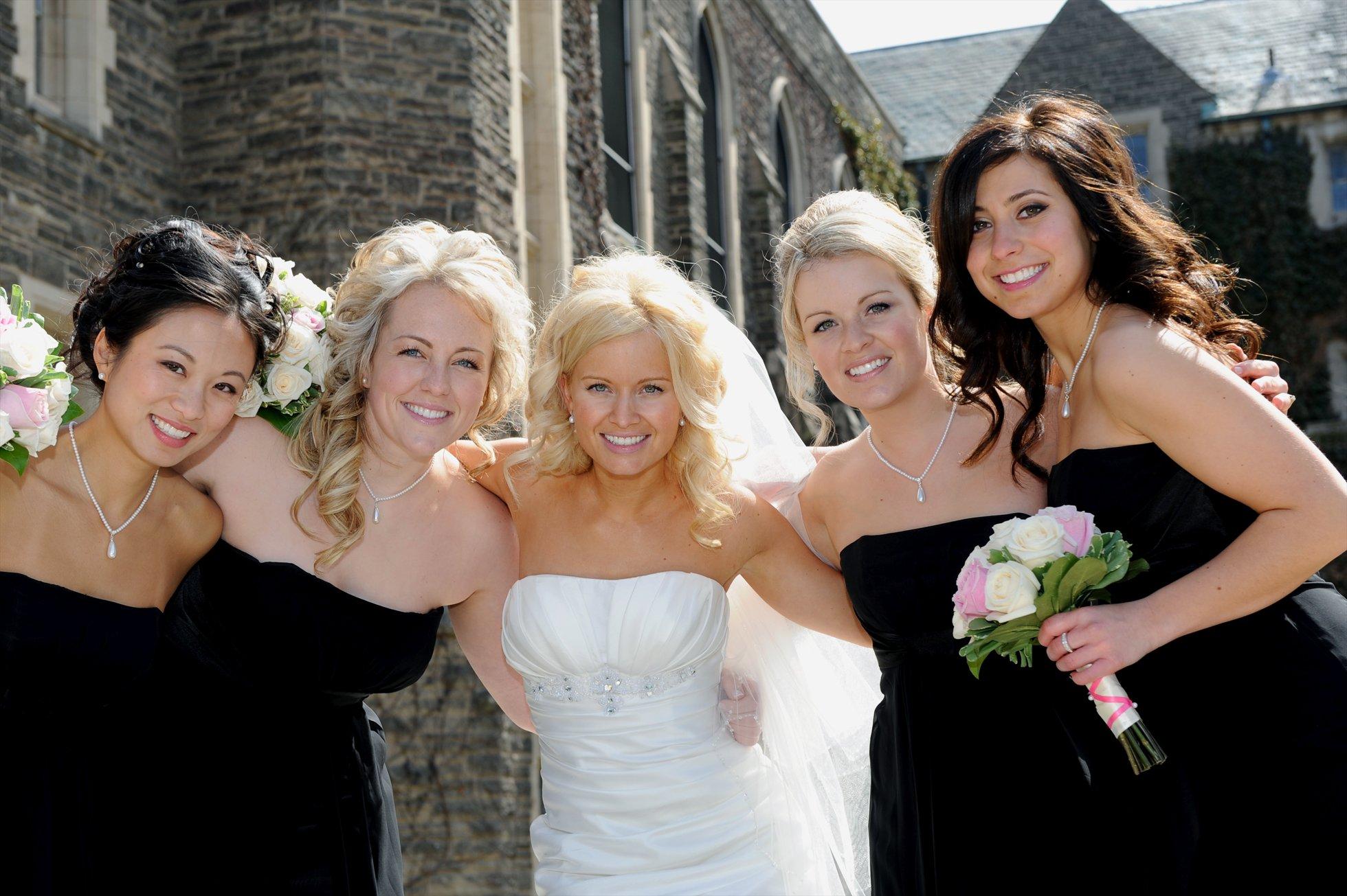 wedding photos at McMaster