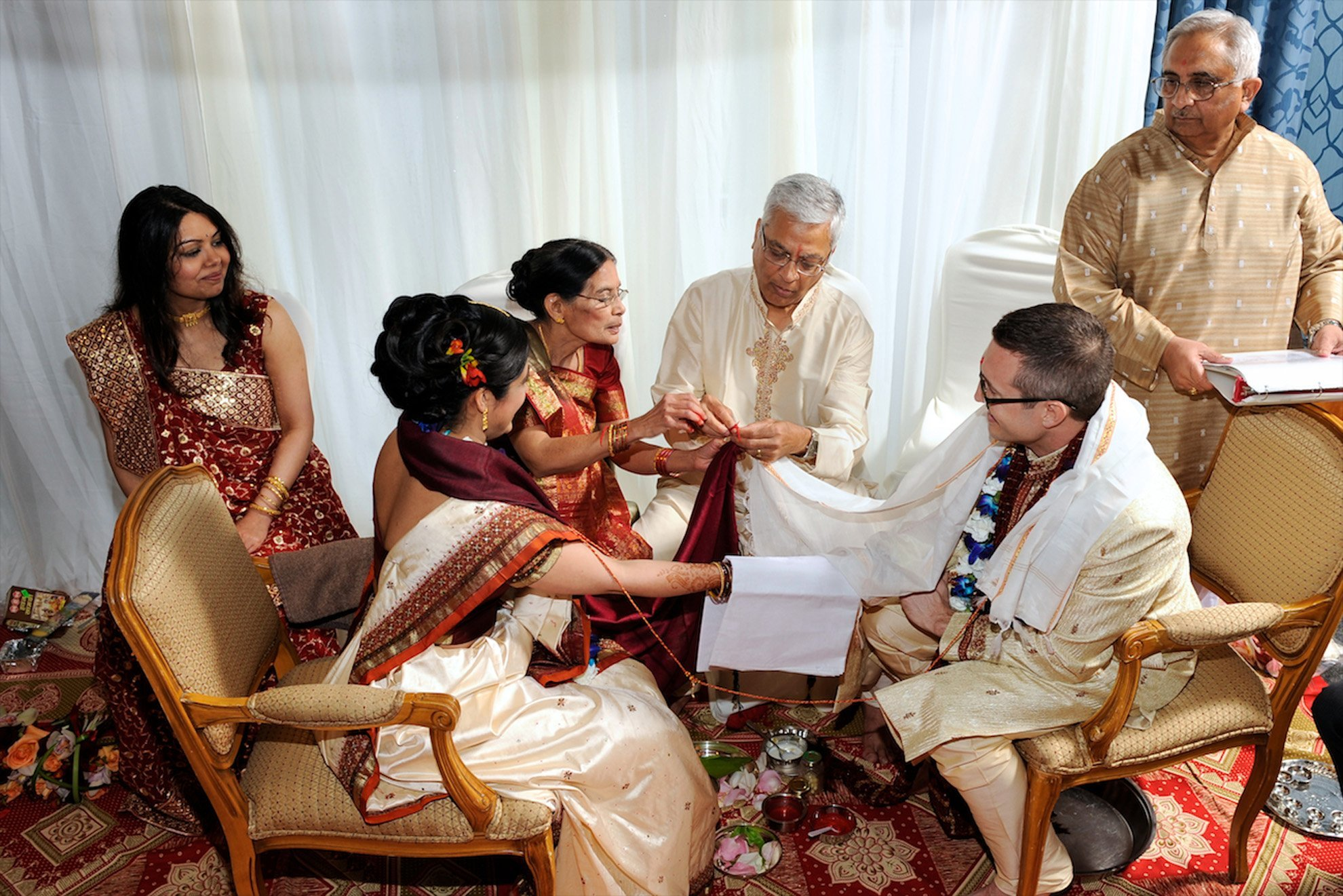 Hindu wedding ceremony at Glen Cairn