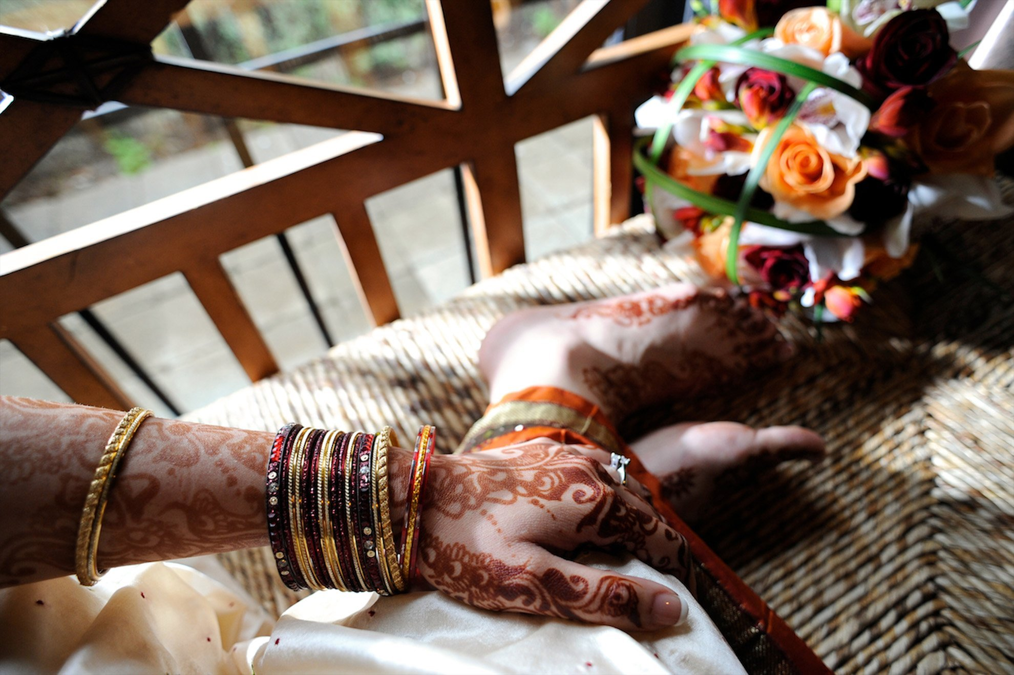 Hindu wedding henna