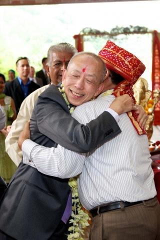 asian and hindu wedding