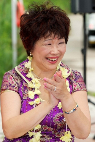 asian mother of the bride