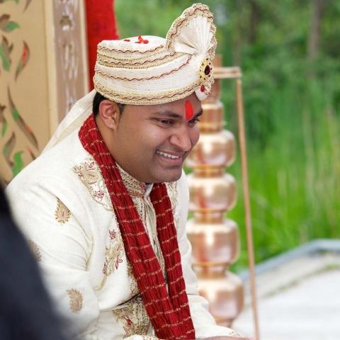 Hindu wedding candid