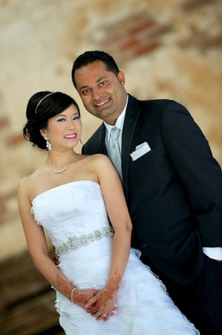 wedding photos at the Brick Works