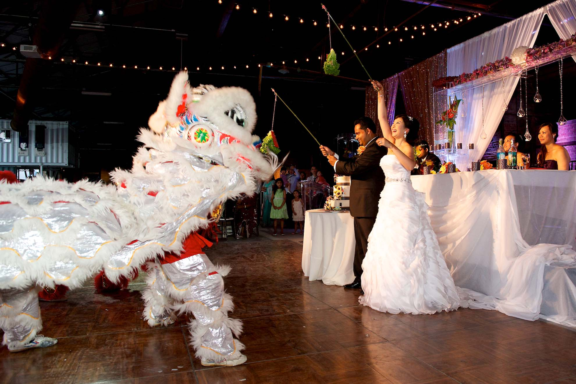 Brick Works toronto wedding asian culture