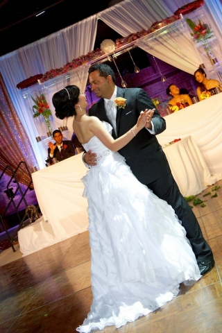 first dance Brick Works toronto wedding