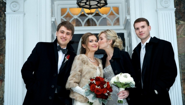 sunnybrook estates winter wedding
