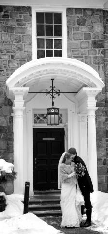 sunnybrook winter wedding