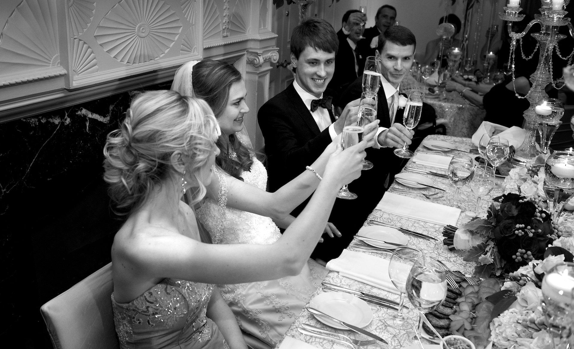 toronto wedding toast