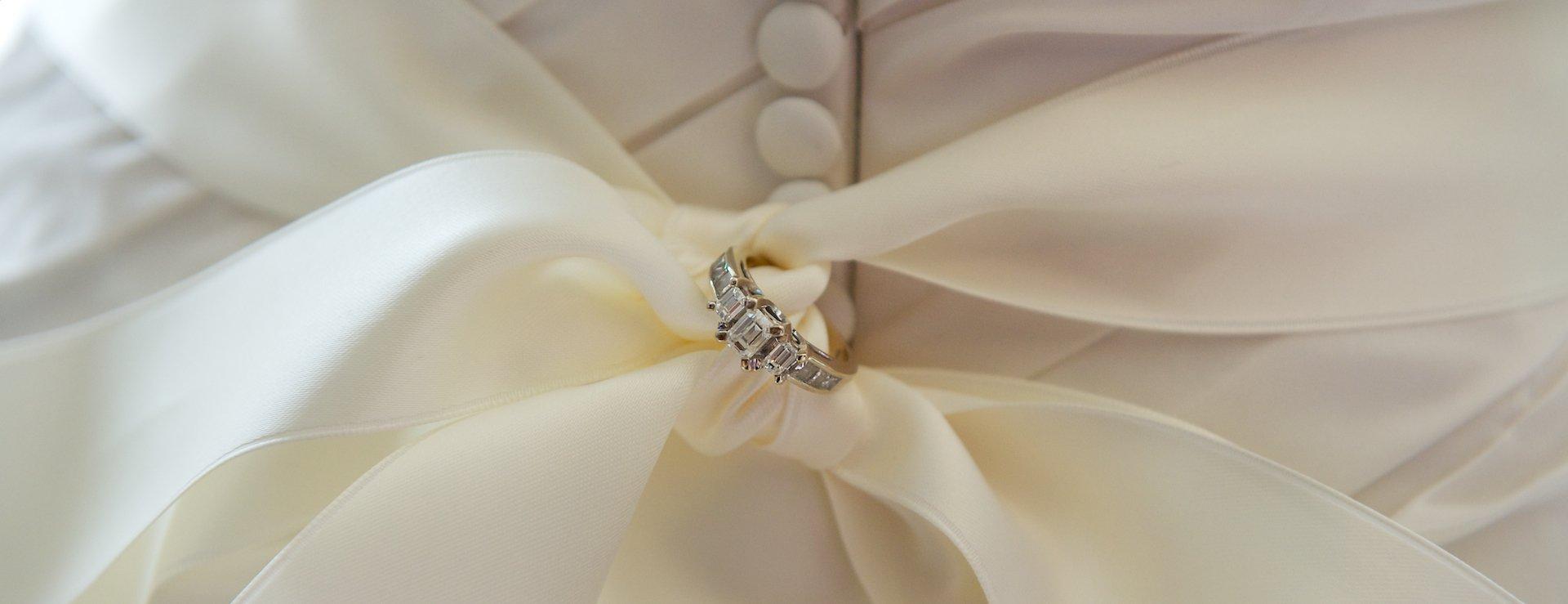 Wedding details at the Scottish Rite