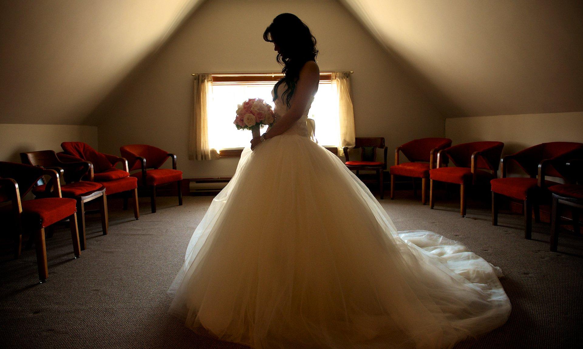 Scottish Rite wedding photos